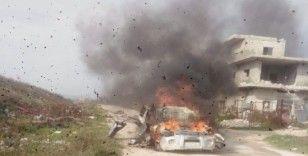 Suriye'de sivil araca füzeli saldırı: 7 ölü, 3 yaralı