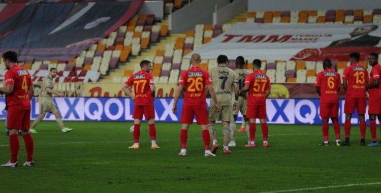 Süper Lig: Yeni Malatyaspor: 1 - Fenerbahçe: 1 (İlk yarı)
