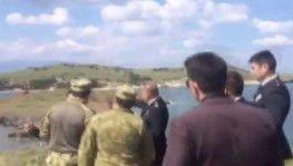 İzmir'de askeri uçak düştü, 2 pilot sağ olarak kurtarıldı
