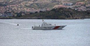 Foça'da düşen uçağın ardından çalışmalar sürüyor