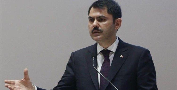 Çevre ve Şehircilik Bakanı Kurum: Kanal İstanbul projemizin temellerini yaz aylarında atacağız