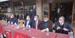CHP Grup Başkanvekili Özel Manisa'da zirai dondan zarar gören bağları inceledi
