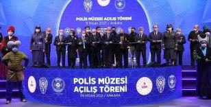 İçişleri Bakanı Soylu, Türk Polis Teşkilatının ilk müzesinin açılışını yaptı