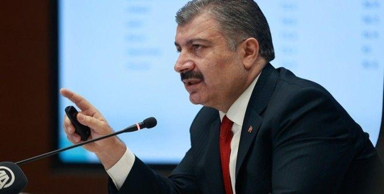 """Sağlık Bakanı Koca: """"İstanbul'daki vaka sayıları Mart başına göre 10 kat arttı"""""""