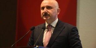 Bakan Karaismailoğlu: 'Kanal İstanbul'la lojistik iddiamızı denizlerimizde de perçinleyeceğiz'