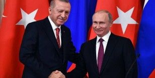 Putin ve Erdoğan, Donbass'taki durumu istişare etti