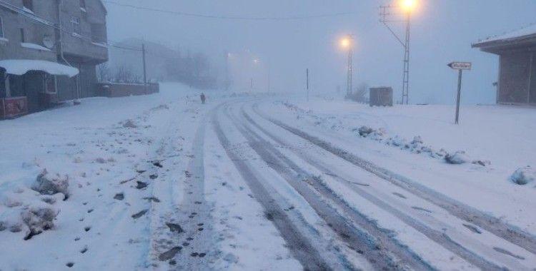 Samsun'a Nisan'da kar sürprizi