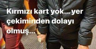 """Arda Turan: """"Kırmızı kart yok, yer çekiminden dolayı olmuş"""""""