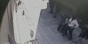 Kağıthane'de silahlı dehşet kamerada