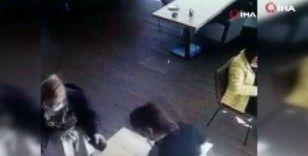 Şişli'de restoranda hırsızlık anları kamerada