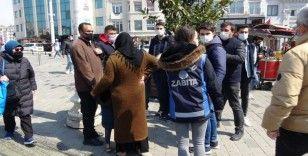 Taksim'de dilencilere yönelik geniş kapsamlı operasyon