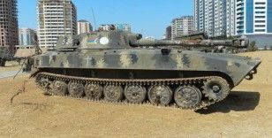 Ermenistan ordusundan ele geçirilen askeri araçlar Askeri Ganimet Parkı'nda sergileniyor