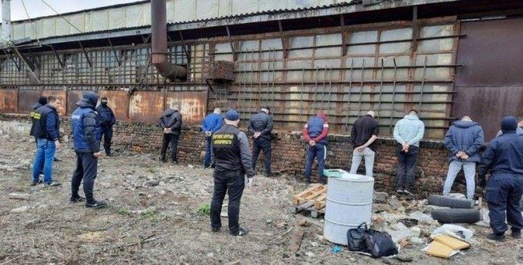 Ukrayna tarihinin en büyük amfetamin operasyonu: 480 bin doz ele geçirildi