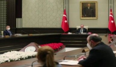 Cumhurbaşkanı Erdoğan başkanlığındaki kabine toplantısı başladı