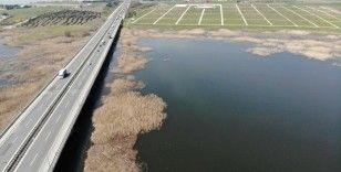 Büyükçekmece Gölü'nde su seviyesi yüzde 76'yı geçti