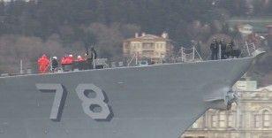 ABD savaş gemileri Boğaz'dan geçmedi