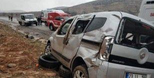 Kayganlaşan yol kazaya neden oldu: 1 ölü, 3 yaralı