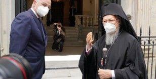Yunanistan Dışişleri Bakanı Dendias, Patrik Bartholomeos ile görüştü
