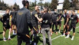 Galatasaray'da Göztepe hazırlıkları devam etti