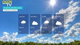 Yarın kara ve denizlerimizde hava nasıl olacak? 17 Nisan 2021 Cumartesi