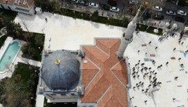 Restorasyonu tamamlanan Teşvikiye Camii ibadete açıldı