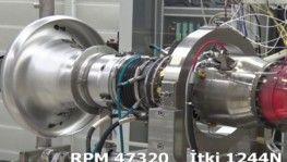 Yerli ve milli TEI-TJ300 motorundan dünya rekoru