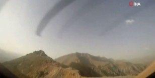 MSB'den hızlandırılmış helikopter kokpiti görüntüleri