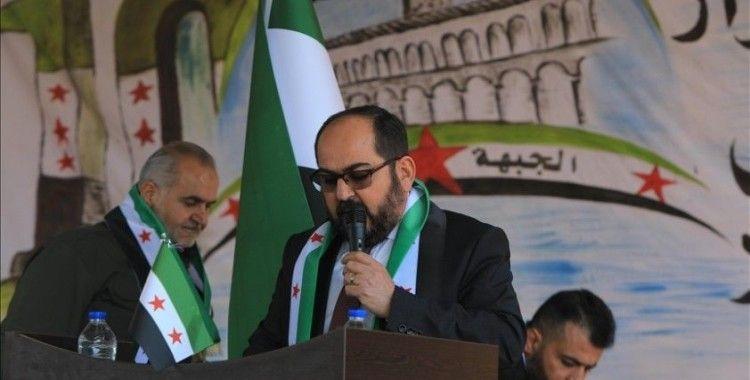 Suriye Geçici Hükümeti Başkanı Mustafa, 'Halkımız yarım asırdır Esed ailesinin esareti altında yaşıyor'