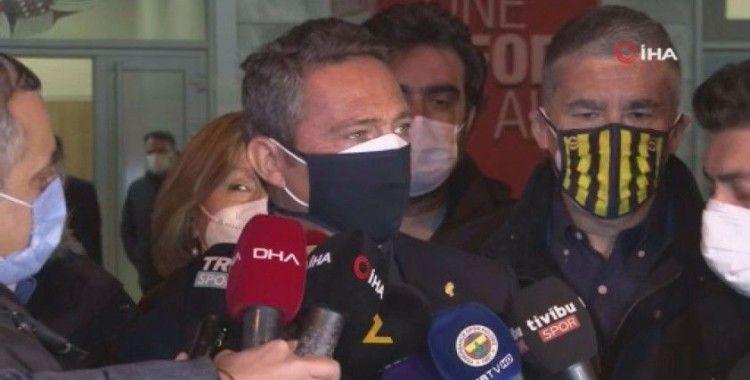 """Başkan Ali Koç: """"İyi bir hava yakaladık umarım devamını getiririz"""""""