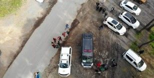 Çekmeköy'de ormanlık alanda kayıp şahsı arama çalışmaları sürüyor