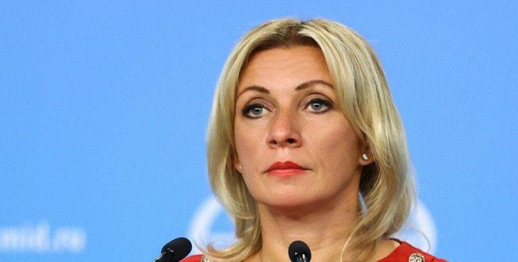 Zaharova: 'Rusya, Çekya'ya cevabını yakında açıklayacak'