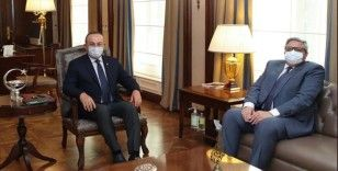 Dışişleri Bakanı Çavuşoğlu, Rusya'nın Ankara Büyükelçisi Yerhov'u kabul etti