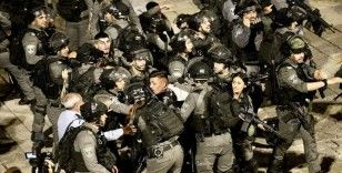 İsrail polisinin Doğu Kudüs'te Filistinlilere müdahalesi altıncı gününde