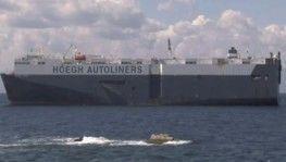 Tuzla'da karaya oturan gemi böyle görüntülendi