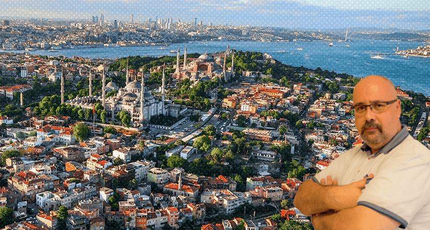 Sana dün bir tepeden baktım aziz İstanbul