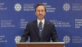 Cumhurbaşkanlığı İletişim Başkanı Altun: Sözde Ermeni soykırımı iddiası sadece siyasi hesaplardan beslenen bir iftiradır