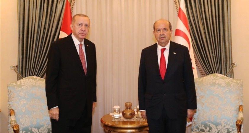 KKTC Cumhurbaşkanı Tatar, pazartesi günü Ankara'da Cumhurbaşkanı Erdoğan ile görüşecek