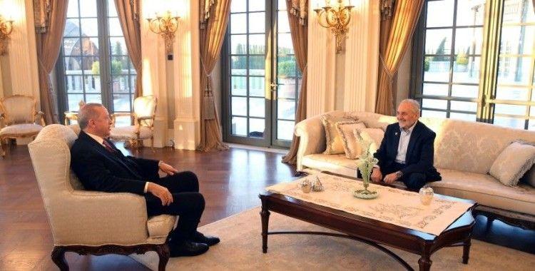 Cumhurbaşkanı Erdoğan, Oğuzhan Asiltürk ile iftar yaptı