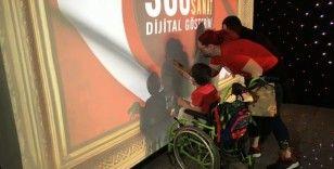 Yenikapı Marmaray İstasyonunda 23 Nisan Dijital Gösterimle kutlanıyor