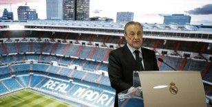 Real Madrid'in başkanı Perez, UEFA'yı suçlayıp Avrupa Süper Ligi projesinin beklemede olduğunu savundu
