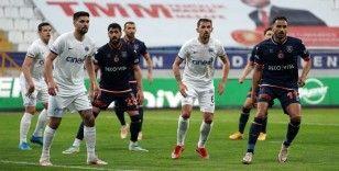 Süper Lig: Kasımpaşa: 0 - Medipol Başakşehir: 1 (İlk yarı)
