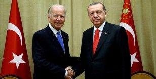 Cumhurbaşkanı Recep Tayyip Erdoğan ABD Başkanı Joe Biden ile telefonda görüştü