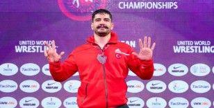 Taha Akgül, Avrupa güreş tarihine geçti
