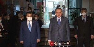 """Cumhurbaşkanı Erdoğan: """"Salgında hayatını kaybeden sağlıkçı kardeşlerime Allah'tan rahmet diliyorum"""""""