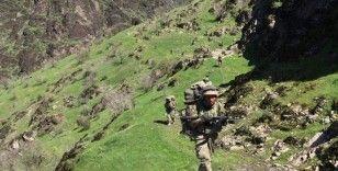 Tunceli'de Eren-7 operasyonu: 15 sığınak imha edildi