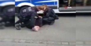Alman polisinden Türk iş adamına George Floyd işkencesi