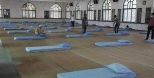 Hindistan'da artan vakalar sonrası camiler hastaneye dönüştürüldü