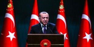 """Cumhurbaşkanı Erdoğan: """"Sınırlarımız ötesinde herhangi bir terör oluşumuna izin vermeyeceğiz"""""""