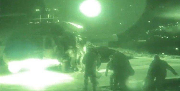 MSB, Pençe-Şimşek ve Pençe-Yıldırım operasyonlarına ilişkin görüntüleri paylaştı