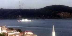 ABD Sahil Güvenlik gemisi İstanbul Boğazı'ndan geçti